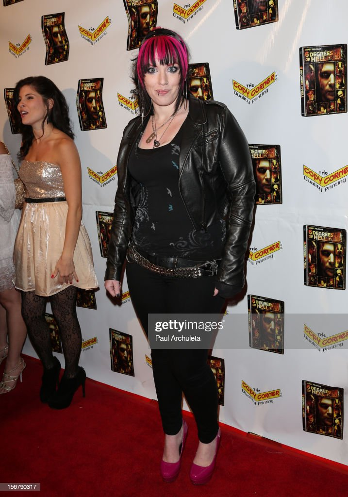 Actress Constance Hall attends the Premiere of '6 Degrees Of Hell' at Laemmle's Music Hall 3 on November 20, 2012 in Beverly Hills, California.