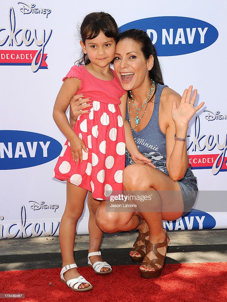 Actress Constance Marie (R) and daughter Luna Marie Katich attend the 'Mickey Through The Decades' collection celebration at Walt Disney Studios on July 13, 2013 in Burbank, California.