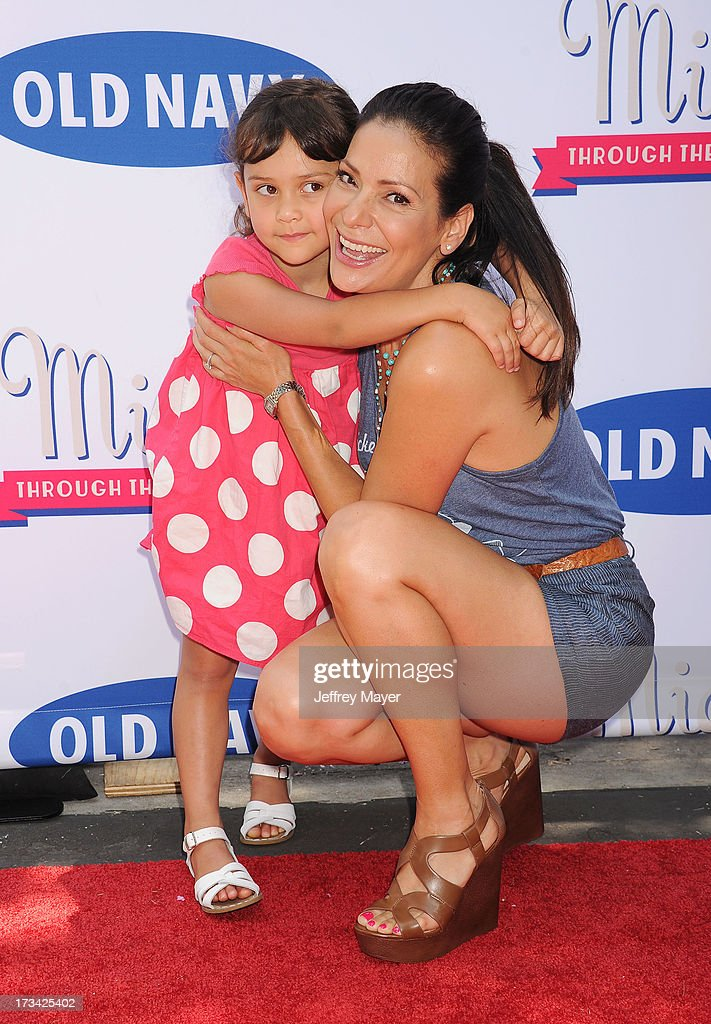 Actress <a gi-track='captionPersonalityLinkClicked' href=/galleries/search?phrase=Constance+Marie&family=editorial&specificpeople=204646 ng-click='$event.stopPropagation()'>Constance Marie</a> and her daughter Luna Marie Katich attend Mickey Through The Decades Collection launch celebration at Walt Disney Studio Lot on July 13, 2013 in Burbank, California.