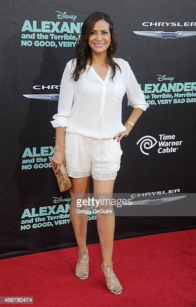 Actress Constance Marie arrives at the Los Angeles premiere of 'Alexander And The Terrible Horrible No Good Very Bad Day' at the El Capitan Theatre...