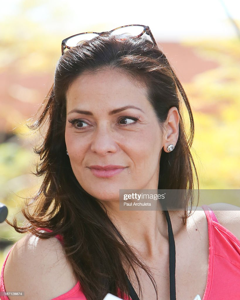 Actress Constance Marie attends the 18th annual Los Angeles Times Festival Of Books - Day 1 at USC on April 20, 2013 in Los Angeles, California.