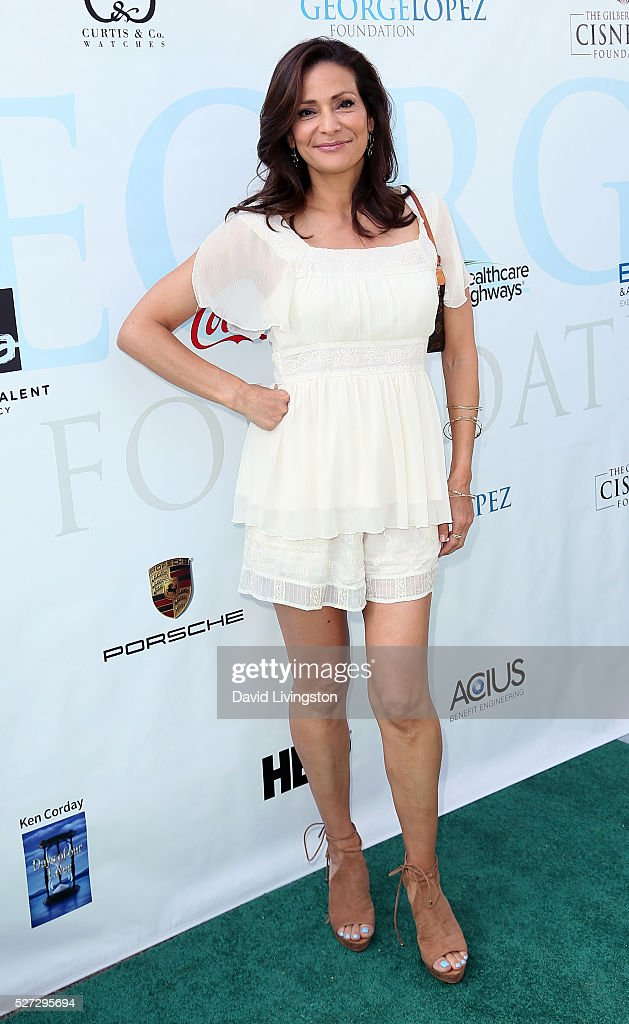 Actress Constance Marie attends the Ninth Annual George Lopez Celebrity Golf Classic at Lakeside Golf Club on May 2, 2016 in Burbank, California.