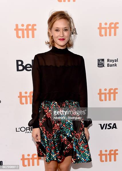 Actress Constance Rousseau attends the 'Daguerrotype' premiere during the 2016 Toronto International Film Festival at Winter Garden Theatre on...