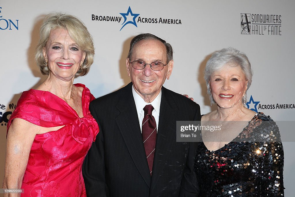 Actress Constance Towers Gavin, lyricist Hal David and wife Eunice David attend 'Love, Sweet Love' musical tribute to Hal David at Mark Taper Forum on October 17, 2011 in Los Angeles, California.