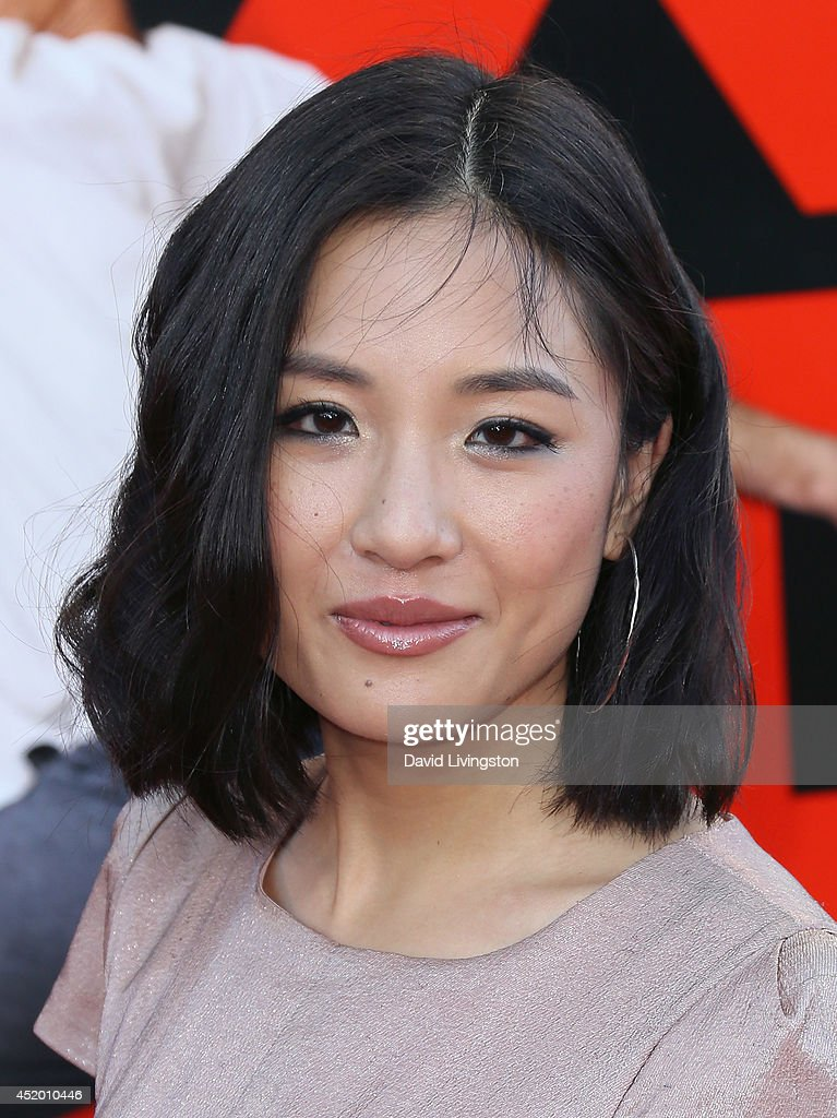 Actress Constance Wu attends the premiere of Columbia Pictures' 'Sex Tape' at the Regency Village Theatre on July 10, 2014 in Westwood, California.