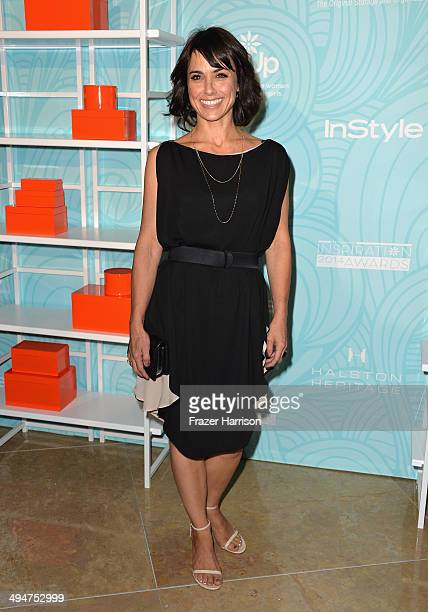 Actress Constance Zimmer arrives at the Step Up 11th Annual Inspiration Awards at The Beverly Hilton Hotel on May 30 2014 in Beverly Hills California