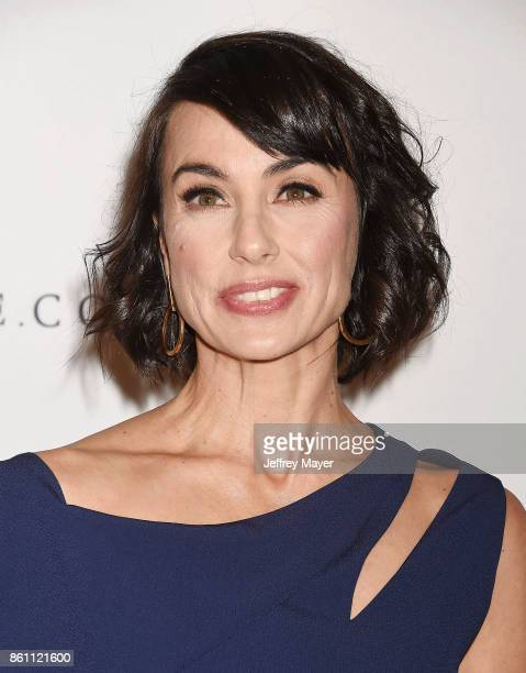 Actress Constance Zimmer arrives at the Variety's Power Of Women Los Angeles at the Beverly Wilshire Four Seasons Hotel on October 13 2017 in Beverly...