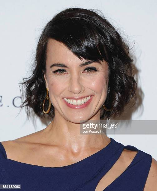 Actress Constance Zimmer arrives at Variety's Power Of Women Los Angeles at the Beverly Wilshire Four Seasons Hotel on October 13 2017 in Beverly...