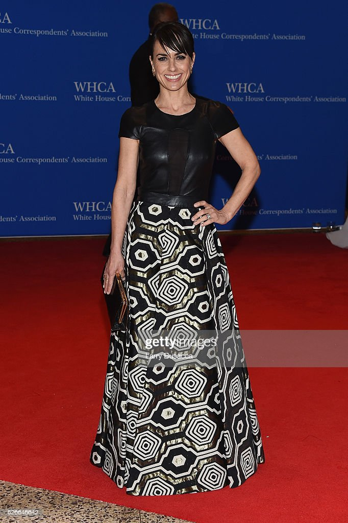 Actress Constance Zimmer attends the 102nd White House Correspondents' Association Dinner on April 30, 2016 in Washington, DC.