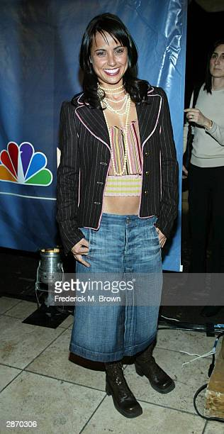 Actress Constance Zimmer attends the 2004 NBC Winter Press Tour AllStar Party at the Highlands on January 14 2004 in Hollywood California