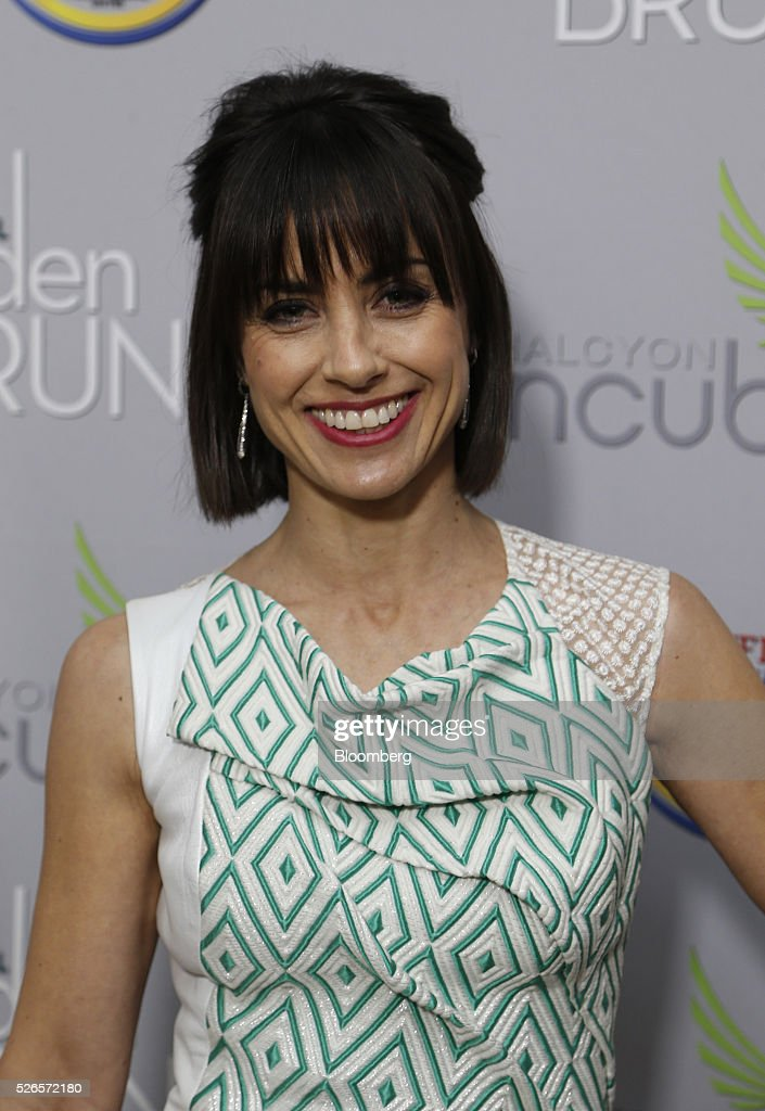 Actress Constance Zimmer attends the 23rd Annual White House Correspondents' Garden Brunch in Washington, D.C., U.S., on Saturday, April 30, 2016. The event will raise awareness for Halcyon Incubator, an organization that supports early stage social entrepreneurs 'seeking to change the world' through an immersive 18-month fellowship program. Photographer: Andrew Harrer/Bloomberg via Getty Images
