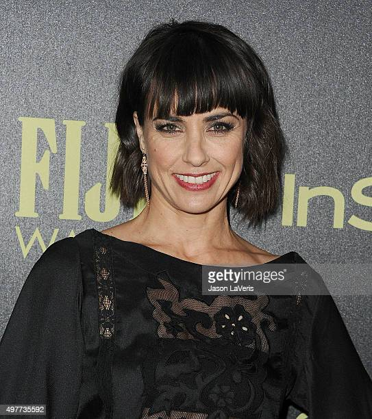 Actress Constance Zimmer attends the Hollywood Foreign Press Association and InStyle's celebration of the 2016 Golden Globe award season at Ysabel on...