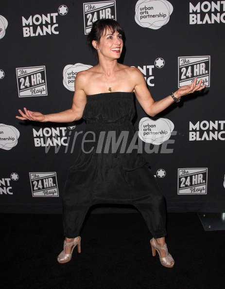 Actress Constance Zimmer attends the Montblanc Presents The