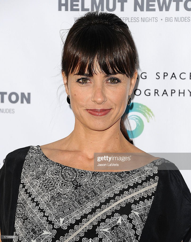 Actress <a gi-track='captionPersonalityLinkClicked' href=/galleries/search?phrase=Constance+Zimmer&family=editorial&specificpeople=217359 ng-click='$event.stopPropagation()'>Constance Zimmer</a> attends the opening of 'Helmut Newton: White Women - Sleepless Nights - Big Nudes' at Annenberg Space For Photography on June 27, 2013 in Century City, California.