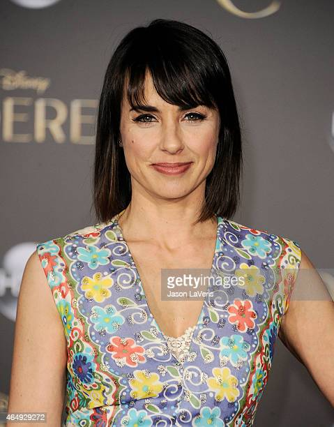 Actress Constance Zimmer attends the premiere of 'Cinderella' at the El Capitan Theatre on March 1 2015 in Hollywood California