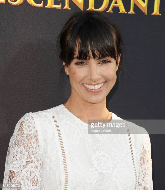 Actress Constance Zimmer attends the premiere of 'Descendants 2' at The Cinerama Dome on July 11 2017 in Los Angeles California