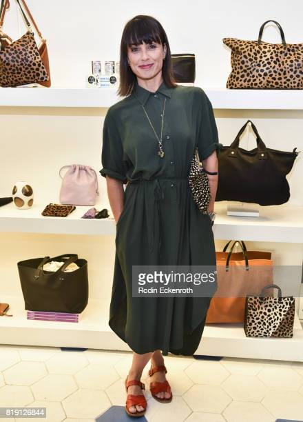 Actress Constance Zimmer attends the release party for 'Fun Mom Dinner' at Clare V on July 19 2017 in West Hollywood California