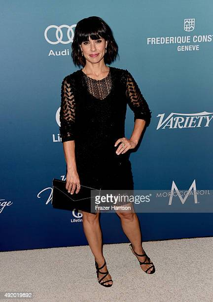 Actress Constance Zimmer attends Variety's Power Of Women Luncheon at the Beverly Wilshire Four Seasons Hotel on October 9 2015 in Beverly Hills...