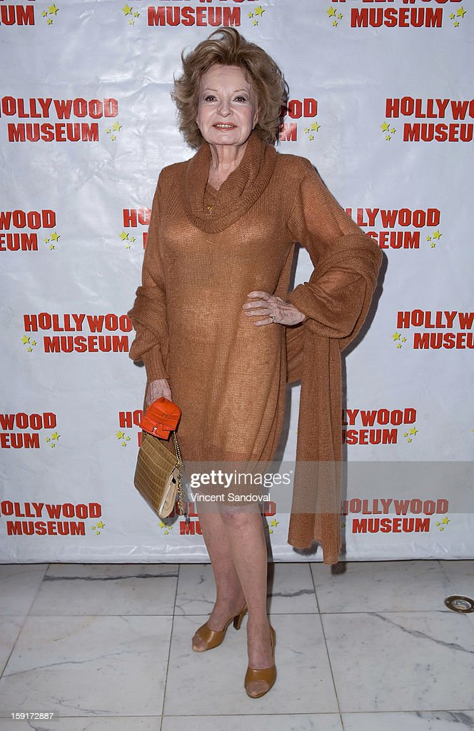 Actress Cora Sue Collins attends The Hollywood Museum's 'Loretta Young: Hollywood Legend' exhibit opening party at The Hollywood Museum on January 8, 2013 in Hollywood, California.