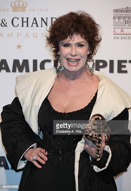Actress Corinne Clery attends Gala Dinner In Favour Of Pietro Gamba Association at Officine Farneto on December 15 2009 in Rome Italy