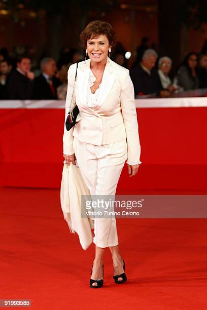 Actress Corinne Clery attends the 'Christine Cristina' Premiere during day 5 of the 4th Rome International Film Festival held at the Auditorium Parco...