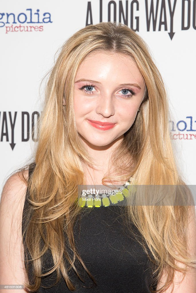 Actress Cortland Tate attends the 'A Long Way Down' New York premiere at City Cinemas 123 on June 30, 2014 in New York City.