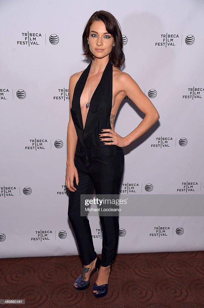 Actress Cortney Palm attends the 'Zombeavers' Premiere during the 2014 Tribeca Film Festival at Chelsea Bow Tie Cinemas on April 19, 2014 in New York City.