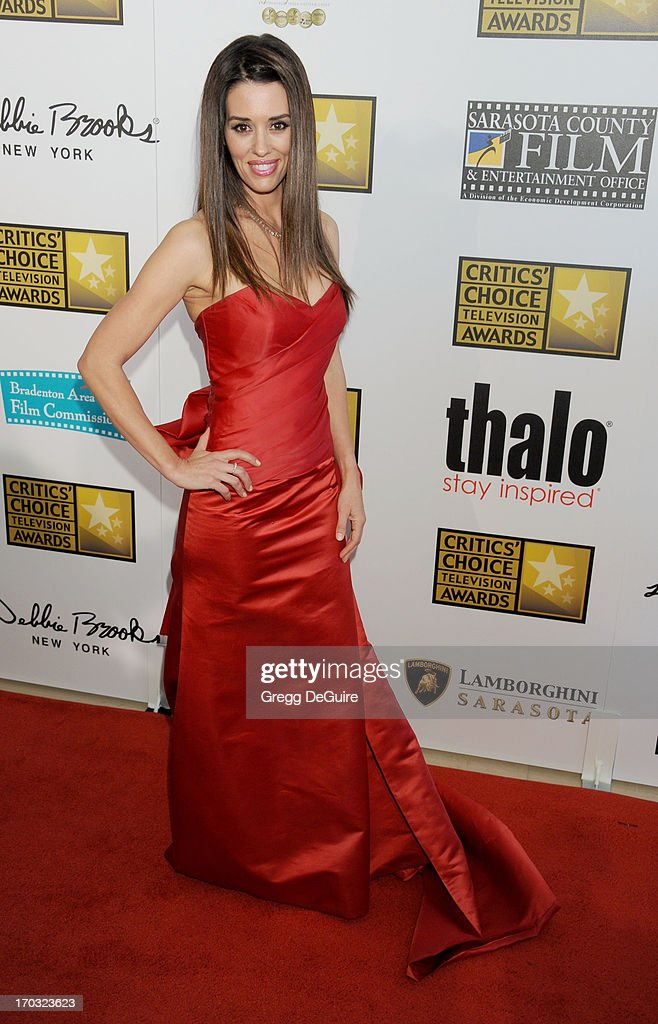 Actress Cory Oliver arrives at the Broadcast Television Journalists Association 3rd Annual Critics' Choice Television Awards at The Beverly Hilton Hotel on June 10, 2013 in Beverly Hills, California.