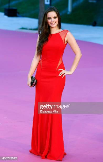 Actress Cosima Coppola attends Roma Fiction Fest 2014 Closing Ceremony Pink Carpet at Auditorium Parco Della Musica on September 19 2014 in Rome Italy