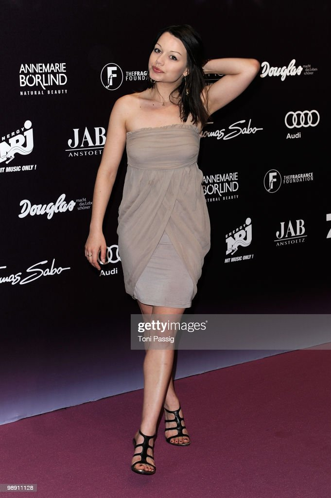 Actress Cosma Shiva Hagen attends the 'Duftstars 2010' at the Station on May 7 2010 in Berlin Germany