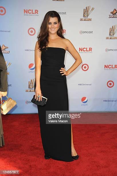 Actress Cote de Pablo arrives at the 2011 NCLR ALMA Awards held at Santa Monica Civic Auditorium on September 10 2011 in Santa Monica California