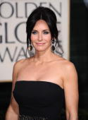 Actress Courteney Cox arrives at the 67th Annual Golden Globe Awards held at The Beverly Hilton Hotel on January 17 2010 in Beverly Hills California