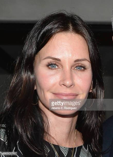 Actress Courteney Cox attends Kevin Morris' 'White Man's Problem' book release party on June 3 2014 in Los Angeles California