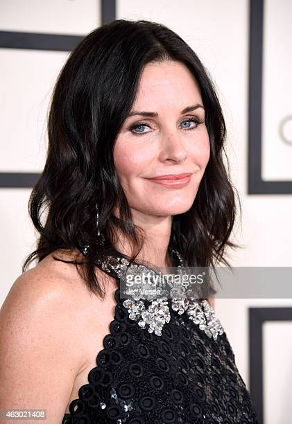 Actress Courteney Cox attends The 57th Annual GRAMMY Awards at the STAPLES Center on February 8 2015 in Los Angeles California