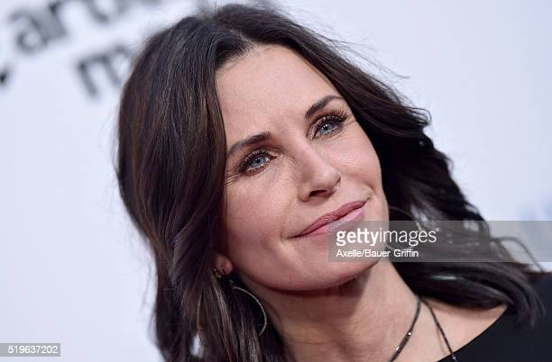 Actress Courteney Cox attends UCLA Institute of the Environment and Sustainability celebration of the Champions Of Our Planet's Future on March 24...