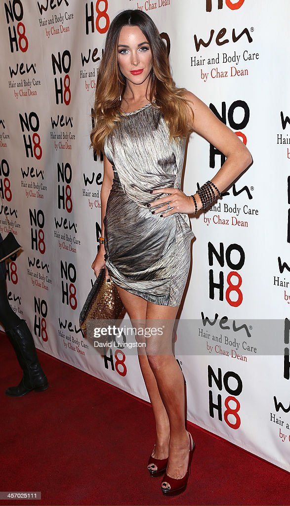 Actress Courtney Bingham attends the NOH8 Campaign 5th Anniversary Celebration at Avalon on December 15, 2013 in Hollywood, California.