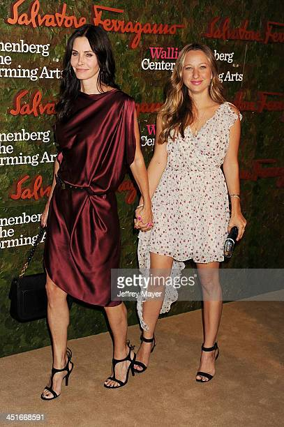 Actress Courtney Cox and Jennifer Meyer arrive at the Wallis Annenberg Center For The Performing Arts Inaugural Gala at Wallis Annenberg Center for...