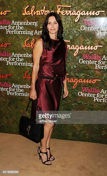 Actress Courtney Cox arrives at the Wallis Annenberg Center For The Performing Arts Inaugural Gala at Wallis Annenberg Center for the Performing Arts...