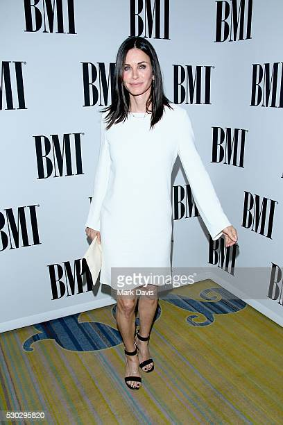 Actress Courtney Cox attends the 64th Annual BMI Pop Awards held at the Beverly Wilshire Four Seasons Hotel on May 10 2016 in Beverly Hills California