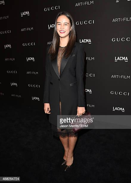 Actress Courtney Eaton attends the 2014 LACMA Art Film Gala honoring Barbara Kruger and Quentin Tarantino presented by Gucci at LACMA on November 1...