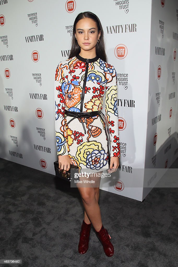 Actress Courtney Eaton attends Vanity Fair and FIAT celebration of Young Hollywood hosted by Krista Smith and James Corden to benefit the Terrence...