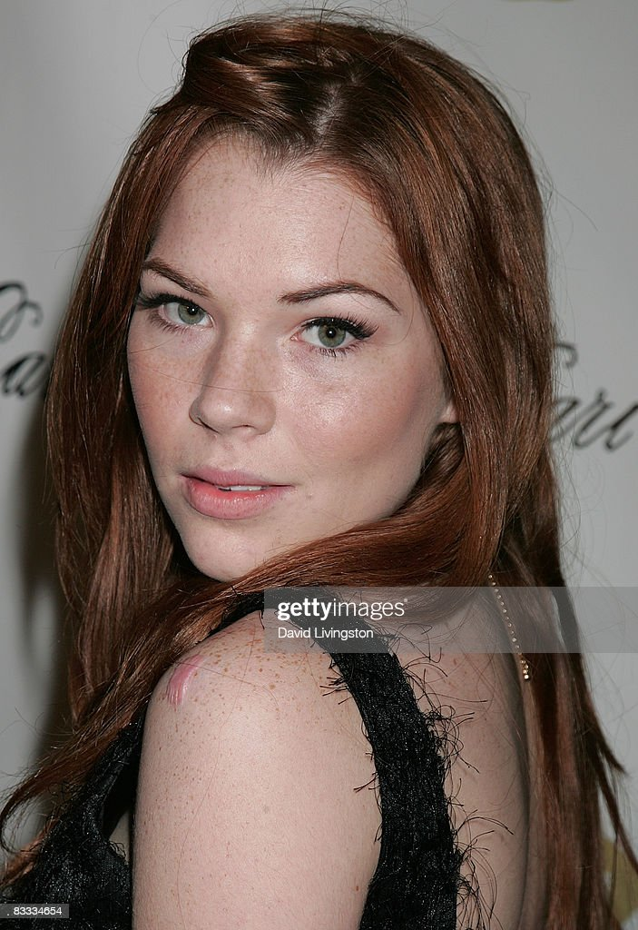 Actress Courtney Halverson attends Los Angeles Fashion Week's grand finale party in the LA Arts District on October 17, 2008 in Los Angeles, California.