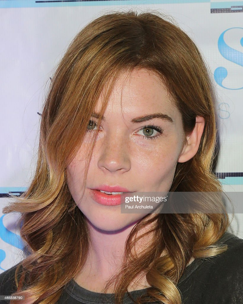 Actress Courtney Halverson attends Sabo Skirt's 2015 PreVMA Party at SkyBar at the Mondrian Los Angeles on August 26 2015 in West Hollywood California