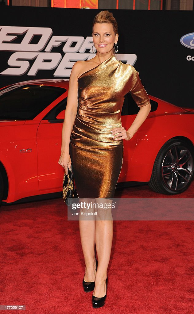 Actress <a gi-track='captionPersonalityLinkClicked' href=/galleries/search?phrase=Courtney+Hansen&family=editorial&specificpeople=2220116 ng-click='$event.stopPropagation()'>Courtney Hansen</a> arrives at the Los Angeles Premiere 'Need For Speed' at TCL Chinese Theatre on March 6, 2014 in Hollywood, California.