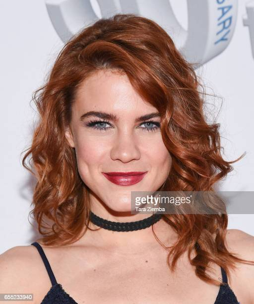 Actress Courtney Hope attends CBS's 'The Bold and The Beautiful' 30th Anniversary Party at Clifton's Cafeteria on March 18 2017 in Los Angeles...