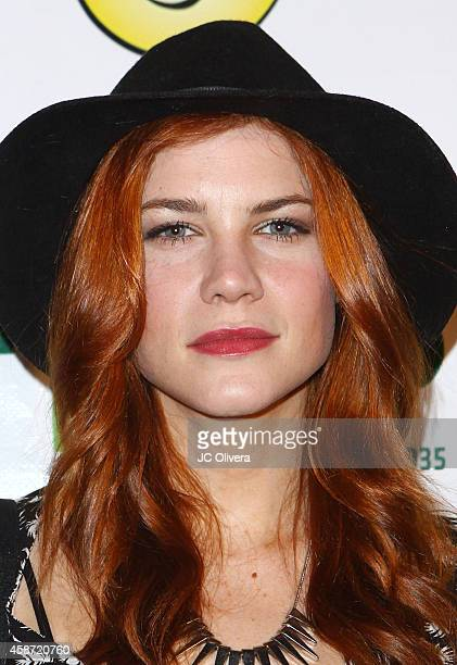 Actress Courtney Hope attends MakeAWish Foundation's Star for a night celebrity benefit at The Vortex on November 8 2014 in Los Angeles California