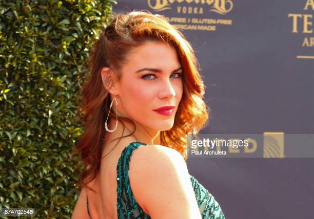Actress Courtney Hope attends the 44th annual Daytime Creative Arts Emmy Awards at Pasadena Civic Auditorium on April 28 2017 in Pasadena California