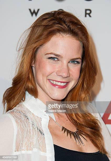 Actress Courtney Hope attends the Premiere Of Focus World's 'I Am Ali' at ArcLight Cinemas on October 8 2014 in Hollywood California