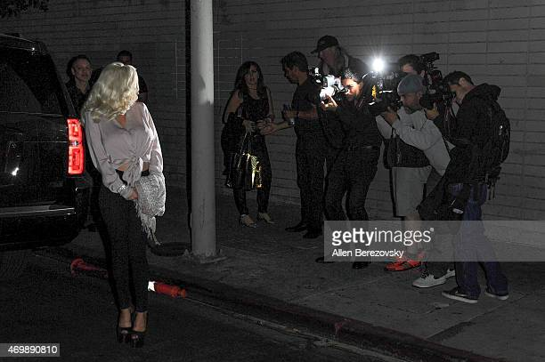 Actress Courtney Stodden attends Star Magazine's Hollywood Rocks Event with Jason Derulo at The Argyle on April 15 2015 in Hollywood California