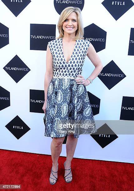 Actress Courtney ThorneSmith attends the 2015 TV LAND Awards at Saban Theatre on April 11 2015 in Beverly Hills California
